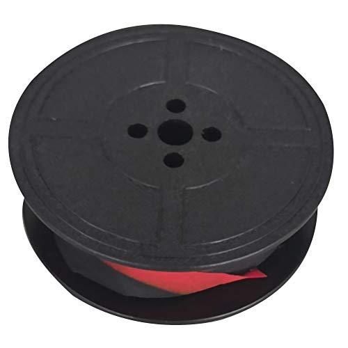 TOYANDONA 1 ruban pour machine à écrire, universel, rouge et noir, ruban pour encre pour machine à écrire des pièces de rechange - Noir