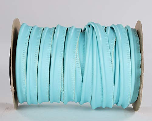 Top Quality Welt Piping - Marine Vinyl Fabric Upholstery - Aqua - by The Yard #CFAS