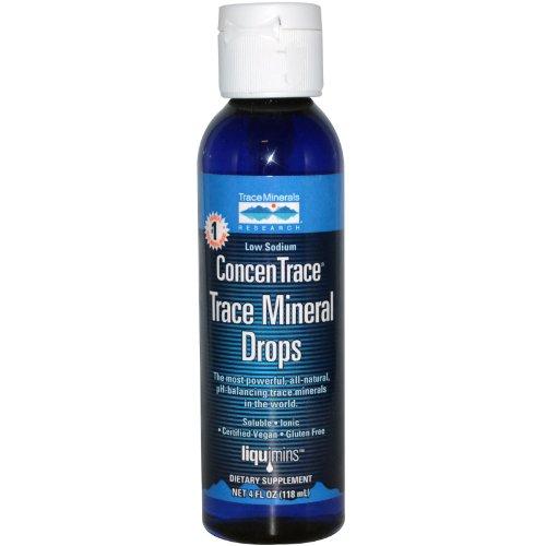 Spår mineraler ConcenTrace Trace Mineral Drops 4 ml