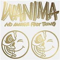 ワニマ WANIMA ステッカー ゴールド 10cm