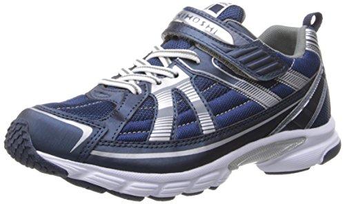 TSUKIHOSHI 3570 Storm Youth Shoe, Navy/Silver - 3 Little Kid (4-8 years)