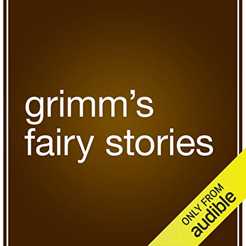 Grimm's Fairy Stories audiobook cover art
