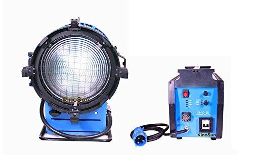 Kinosun PRO 4000W DayLight Compact HMI Fresnel Light +230V 2.5 4K Ballast Flicker-free