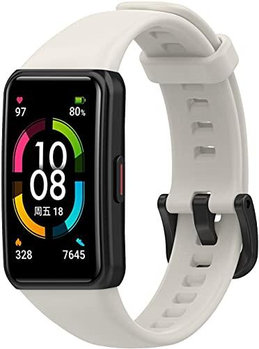 Gransho Correa de Reloj Reemplazo Compatible con Huawei Watch Fit/Huawei Fit, la Correa de Reloj Watch Band Accessorios (Pattern 7)