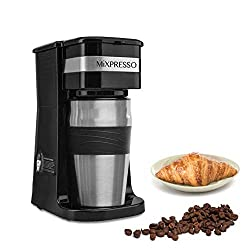 Mixpresso Ultimate 2-in-1 Single Cup Coffee Maker