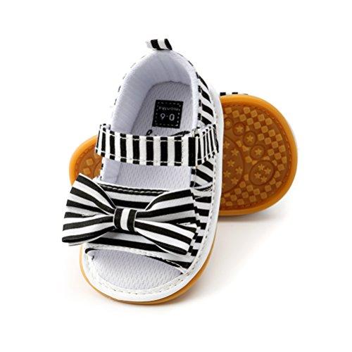 Sandalias de Bebé Niña con Bowknot, Zapatos de Verano para Infantil Pequeños...