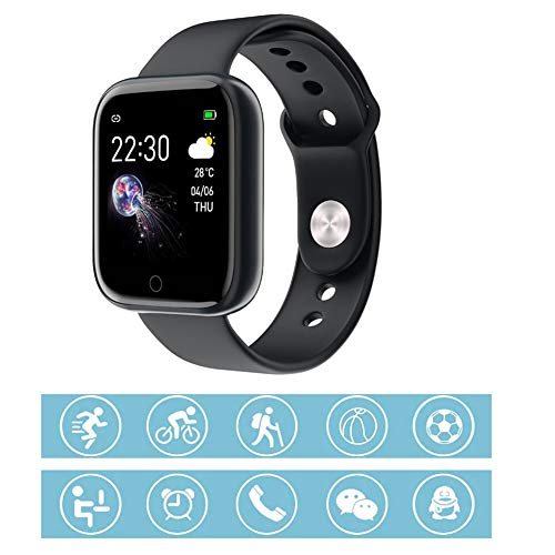 BZLEK Salute E Sportivo Activity Tracker con Pedometro Contapassi di Calorie, Smartwatch Orologio IP67 Impermeabile 1,3 Pollici Touch Screen A Colori, Monitoraggio del Sonno Controllo della Musica,C