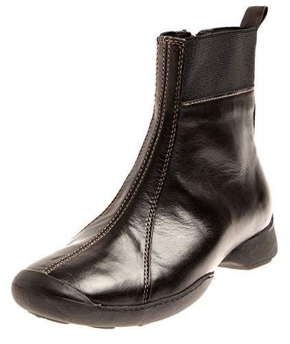 Wolky 6301 Drive Damen Bootie Kurzstiefel Boots Komfort Schuhe Wechselfußbett Schwarz EU 37