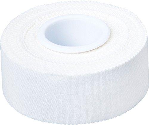 Cawila Premium Sporttape, einzeln, einfarbig weiß, verschiedene Größen (2,5cm x 10m)