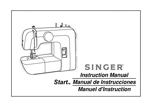 Singer 1304 Sewing Machine/Embroidery/Serger Owners Manual Reprint [Plastic Comb]