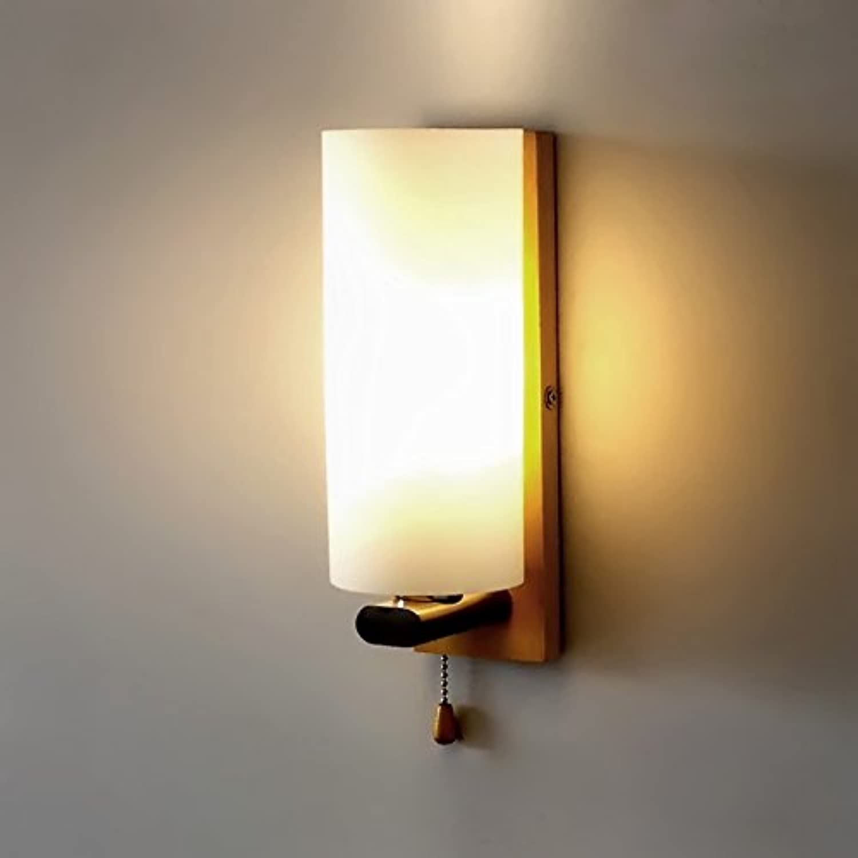 TYDXSD Nordische Einfach Solide Holz Wand Lampe Nachttischlampe Mit Schalter Led Wand Lampe Stilvolle Kreative Gang Lichter Spiegel Lampe Treppe 100  280Mm