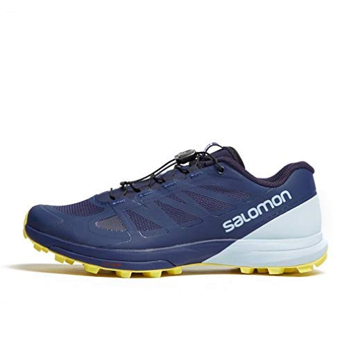 Salomon Women's Sense Pro 3 Trail Running Shoes, Patriot Blue/Cashmere Blue/Aurora, 8.5