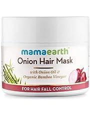 Mamaearths Onion Hair Mask for Hairfall Control with Organi