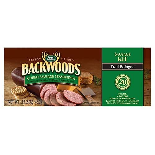 LEM Backwoods Cured Trail Bologna Kit