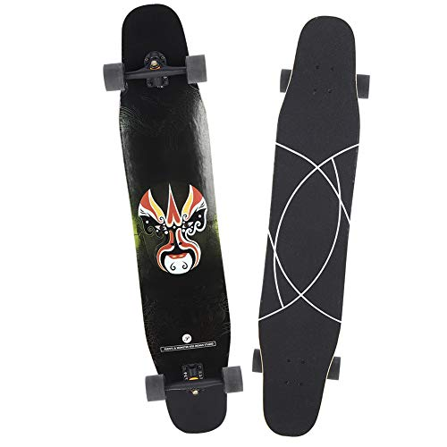 %8 OFF! wosume Skate Board, 200kg Load Capacity Good Grip Performance Skate Longboard, Higher Toughn...