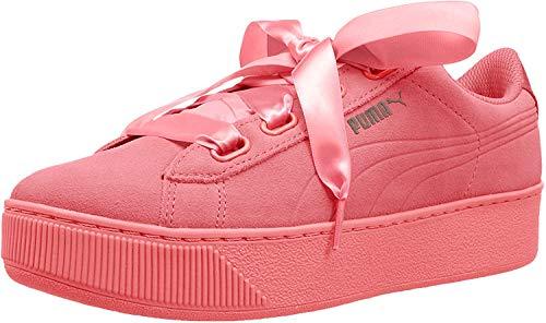 Puma Vikky Platform Ribbon S Damen Sneakers Dark Pink, 40.5 EU