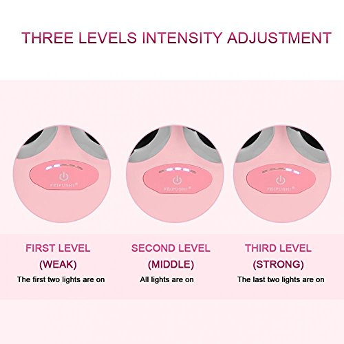 Elektrische Micro-current Vibration Y Shape 3D Roller Face Massager Lifting Tighten Device, Facelift Massagegerät Faltenschwellung Entfernung Hautpflege Gerät - 5