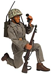 Image: GI Joe 12 Inch Navajo Indian Navaho Code Talker Figure: Says 7 Different Phrases! In Najavo Code and English!
