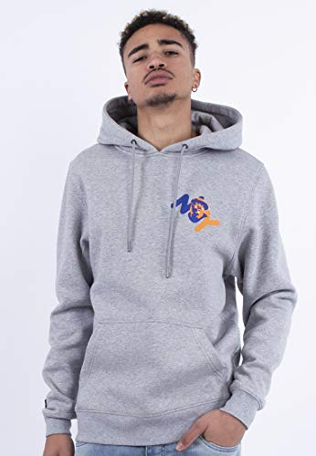 Cayler & Sons Mens Herren Hoodies Ny Hooded Sweatshirt, Htr Grey/mc, XXL