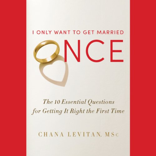 I Only Want to Get Married Once audiobook cover art