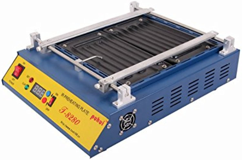 KOHSTAR Puhui T8280 IR Solder Station 110V T8280 T 8280 PCB Preheater SMD Rework Preheat Station