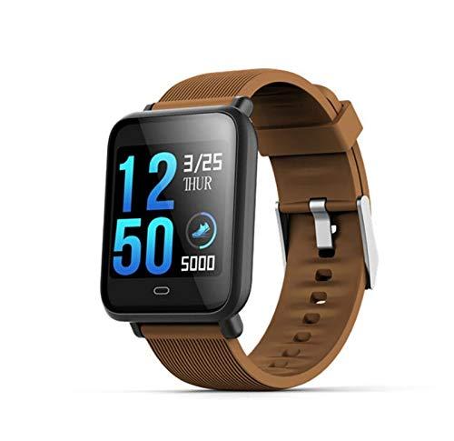 LYB Para Vivo Y3 Y19 Y17 Y12 Y15 Y11 X30 X27 Y19 Y5S Y7S Y89 Y90 Y91 Y93 Reloj deportivo para hombre y mujer, reloj inteligente, presión arterial, frecuencia cardíaca, color bronce