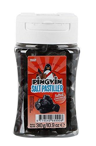 Pingvin Salt Liquorice Pastiles, 4er Pack (4 x 310 g)
