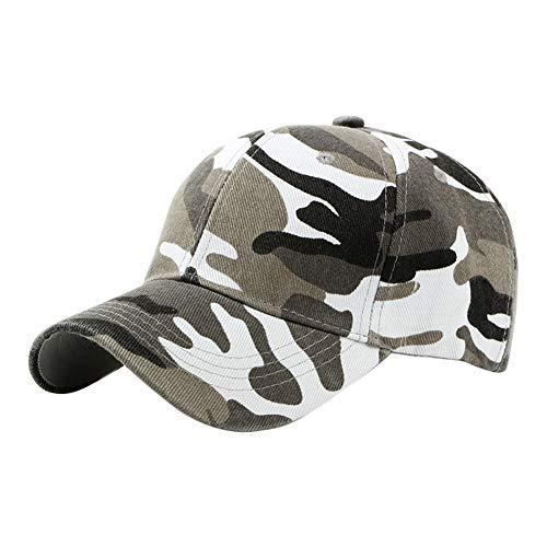 Da.Wa Casquettes de Baseball Camouflage Unisexe Réglable Anti-UV pour Golf Cyclisme Randonnée Loisirs
