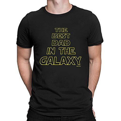 Regalo Los Padres - The Best Dad In The Galaxy - Camiseta