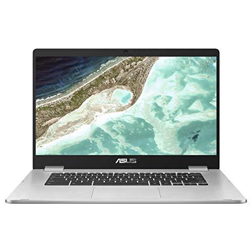 ASUS Chromebook C523NA-A20071 Ordinateur Portable Tactile 15,6'' FHD (Celeron N3350, RAM 8Go, 64Go EMMC, Chrome OS) Clavier AZERTY Français