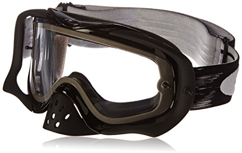 Oakley Herren Crowbar MX Sonnenbrille, Clear, Einheitsgröße