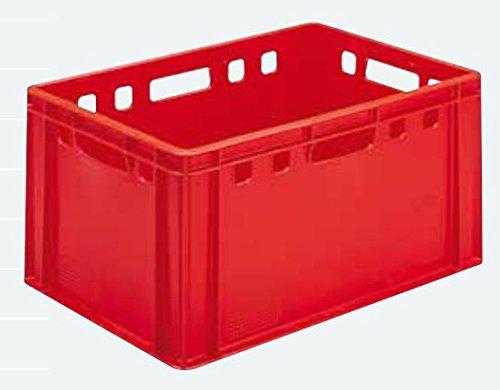 Euro - Fleisch - Kiste E1 / E2 / E3 (E3 rot (40x60x30cm))