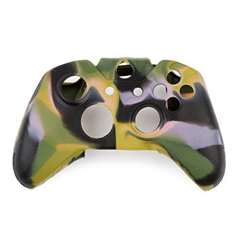 Custodia Gel Gel con copertura in gomma protettiva in silicone controller REYTID - Compatibile con Microsoft Xbox One Gamepad