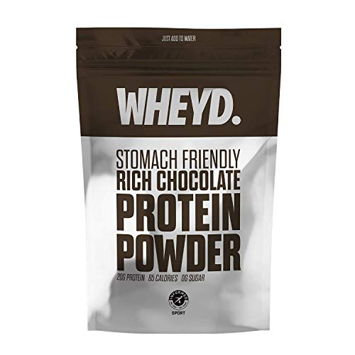 WHEYD Protein Powder - Grass Fed Hydrolysed Whey Isolate - Rich Chocolate (720g, 30 x 24g Servings, Low Lactose)