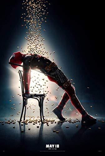 Puzzle 1000 Piezas Rompecabezas 3D De para Niños Y Adultos Juego De Rompecabezas Divertido Juego Familiar, Deadpool 2 Movie Posters