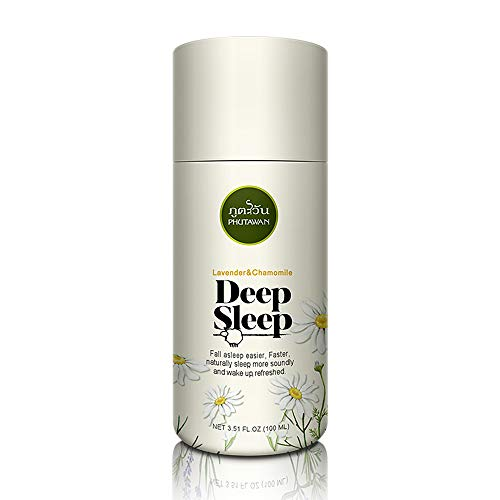 Phutawan Deep Sleep Pillow Spray_Mist Sleep Aid_All Natural blend of essential oils_Lavender, Peppermint & wild Chamomile_relax the mind and body calm_Natural Herbal Relaxing Stress Relief