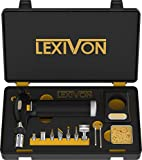 LEXIVON Butane Torch Multi-Function Kit | Premium Self-Igniting Soldering...
