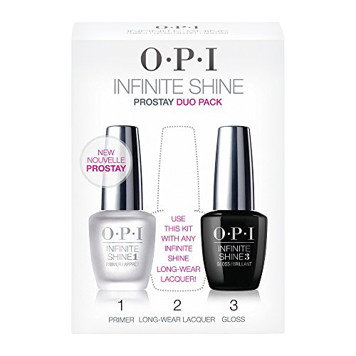 OPI - Vernis à Ongles - Infinite Shine - Prostay Duo Pack - Primer & Gloss - Qualité professionnelle - 2x15 ml