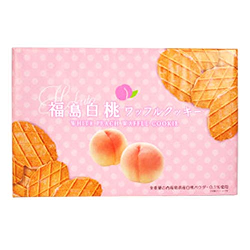 福島白桃ワッフルクッキー 20枚入り×2箱*