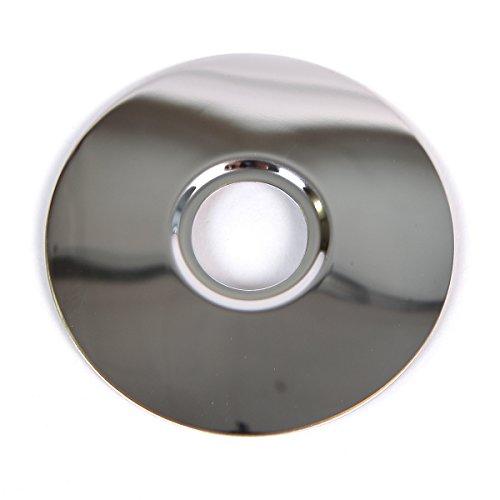 KANANA Roseta roseta para grifos de pared, brazo de entrada (roseta 04 redonda)