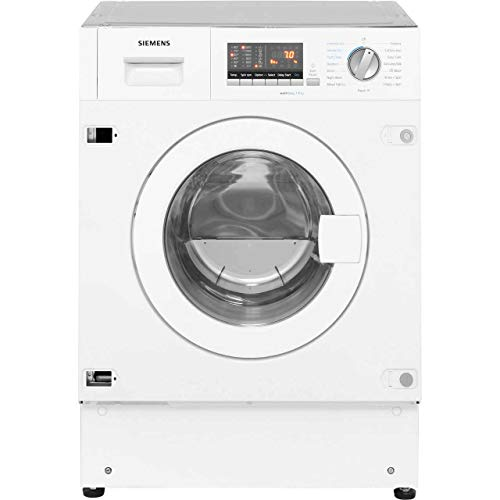 Siemens WK14D541GB Built-In B Rated Washer Dryer in White