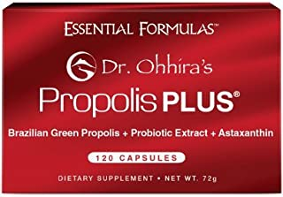 Dr. Ohhira's Propolis Plus with Brazilian Green Propolis 120 Capsules