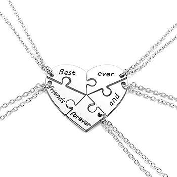 Best friendship necklace 5 piece Reviews