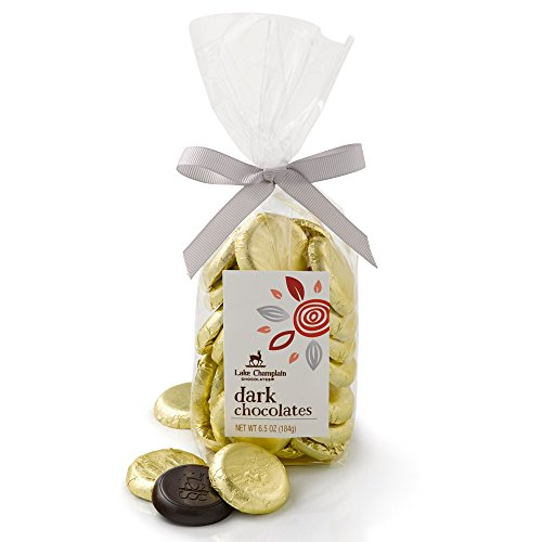 LAKE CHAMPLAIN CHOCOLATES Dark Chocolate Coins, 6.5 OZ