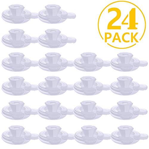 BETOY 24x Bettdeckenhalter Bettdecken-Clips, Bettdecken Clips, Bett Duvet Donuts Halter, Hält Bettdecken an Ort und Stelle