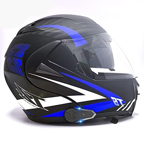 Los cascos abatibles para motocicleta integran cascos modulares Bluetooth, lo que permite la comunicación instantánea entre los pasajeros imprescindible para viajar huracán 6,S