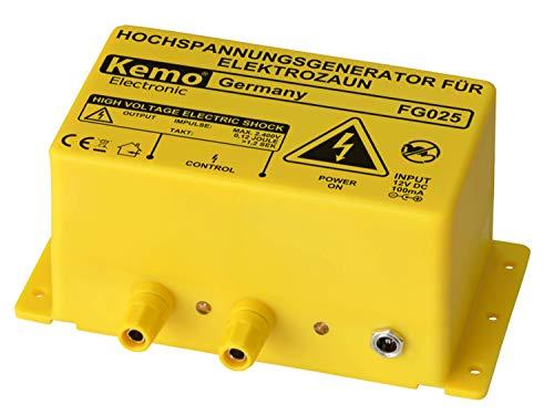 Kemo wilgenhek - hoogspanningsapparaat voor elektrische hek FG025