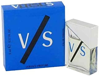 VS by Gianni Versace for MEN: EDT .17 OZ MINI (note minis approximately 1-2 inches in height)
