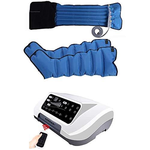 SXFYGYQ Massaggiatore a Compressione d\'Aria Pressoterapia Gamba Braccio Vita Massaggiatore Dispositivo di Massaggio a Pressione Scorrevole Pressione E Tempo Facili da Impostare