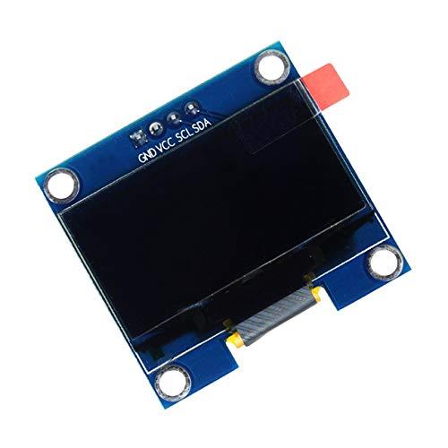 Ballylelly 1.3 Pulgadas 4 Pines I2C IIC Serie 128X64 OLED LCD Módulo de Pantalla LED SH1106 para Arduino 51 MSP420 STIM32 SCR SPI Pantalla OLED